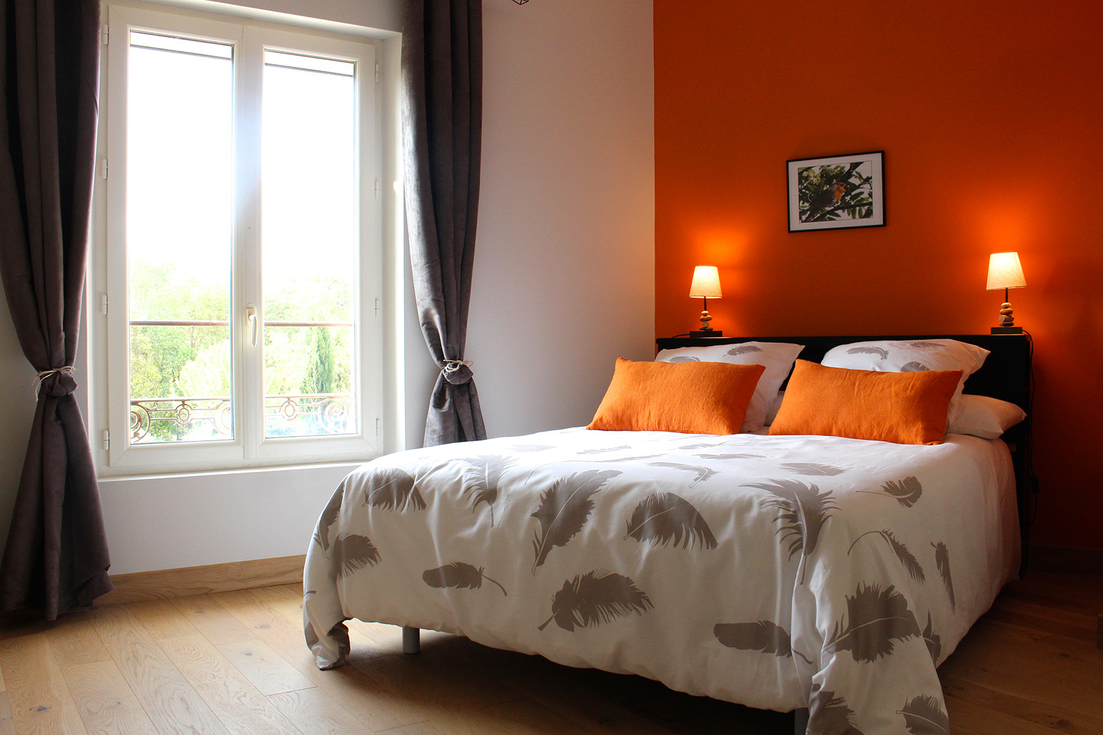 Chambre ambre – la bastide de pierres